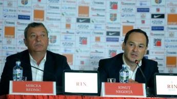 Negoiță îi vinde Dinamo lui Rednic
